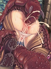 Tentacle hentai of the highest quality