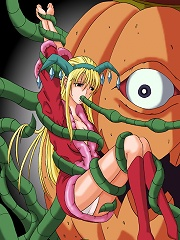 Very horny tentacle monsters