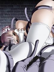 Hentai Cutie craving Gohan and getting cumblast
